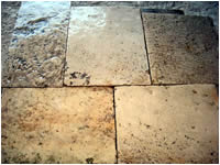 ANCIENT FLOORING AGE (1700)WITH CUT THICKNESS TO CM.3 OF PIERRE DE BOURGOGNE RECOVERY OLDSTONE .IN WAREHOUSE GREAT METERS SQUARES AVAILABLE.(STOCK OF 1000 M2).MATERIAUX<br>  ANCIENS IN STONE OF BOURGOGNE,RECLAIMED ANTIQUE LIMESTONE<br> 2015 DISCOUNT 10% ( PRICE SEND EMAIL ).