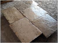 OLD LIMESTONE FLOORING RECOVERY STONE OF BOURGOGNE AGE 1700 ORIGINAL (OPUS ROMAN)TO CUT AND NOT CUT GREAT AMOUNTS IN STOCK.MATERIAUX ANCIENS,RECLAIMED ANTIQUE LIMESTONE