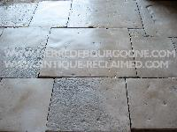 ANCIENT FLOORING OF RECOVERY STONE OF BOURGOGNE CUT TO 3 CM.(800 M2 TO DISPOSITION).MATERIAUX ANCIENS,RECLAIMED ANTIQUE LIMESTONE.