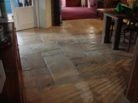 ANTIQUE DALLE DE BOURGOGNE, FRENCH LIMESTONE FLOORS
