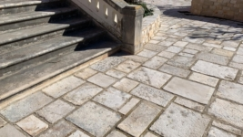 RECLAIMED STONE STEPS,RECLAIMED LIMESTONE