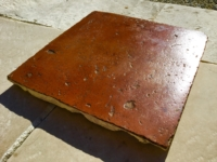 ANTIQUE FRENCH TERRACOTTA FLOORING,AGED FROM ABOUT 16TH-17TH CENTURY, RECOVERED FROM THE OLD BUILDING,FOR MORE INFORTION SEND EMAIL